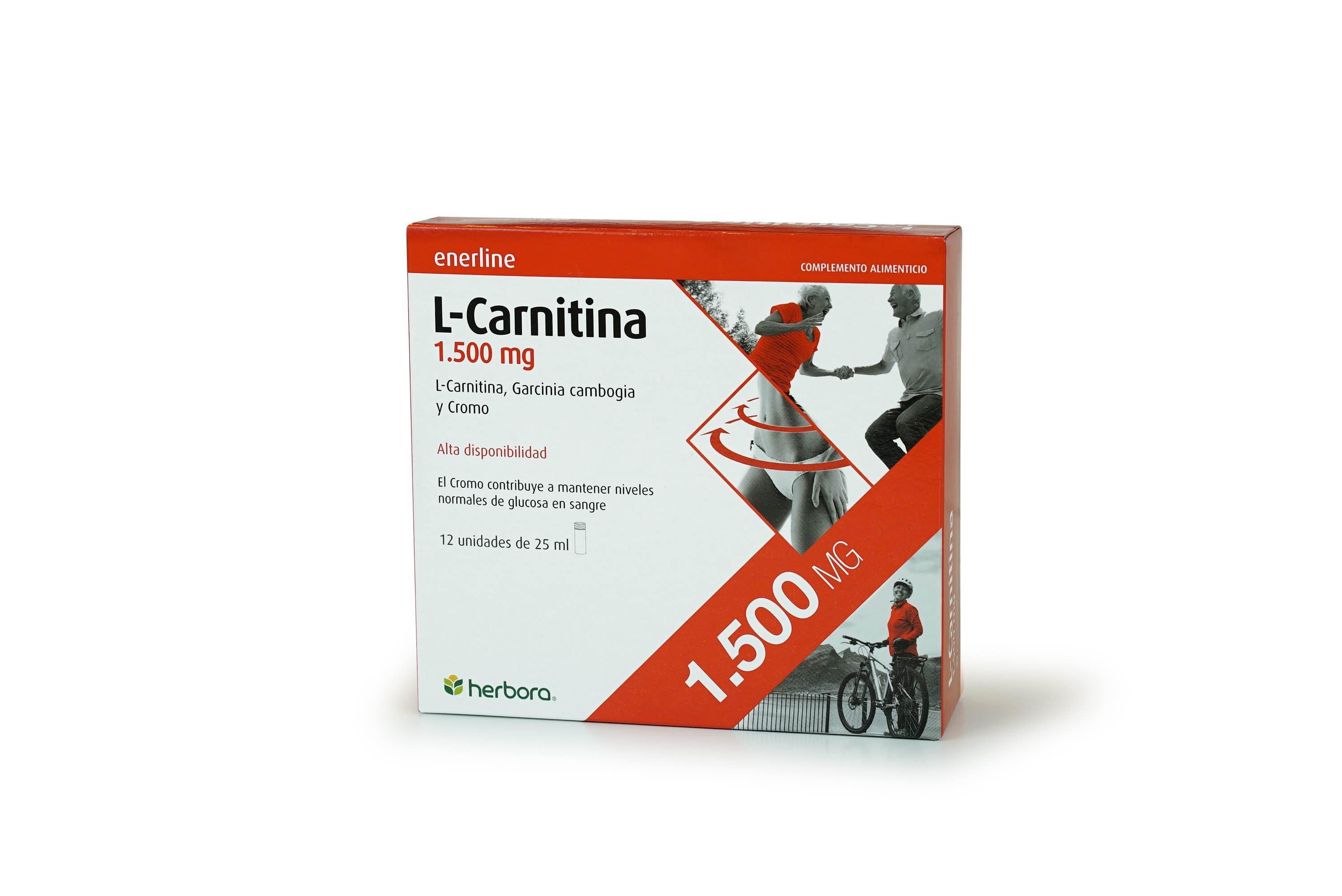 Enerline Carnitina 1500 mg