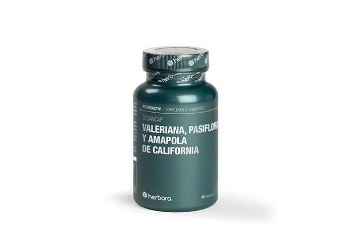 valeriana, pasiflora y amapola de california