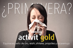 ACTIVIT GOLD HERBORA ALERGIAS SELLO DE ORO
