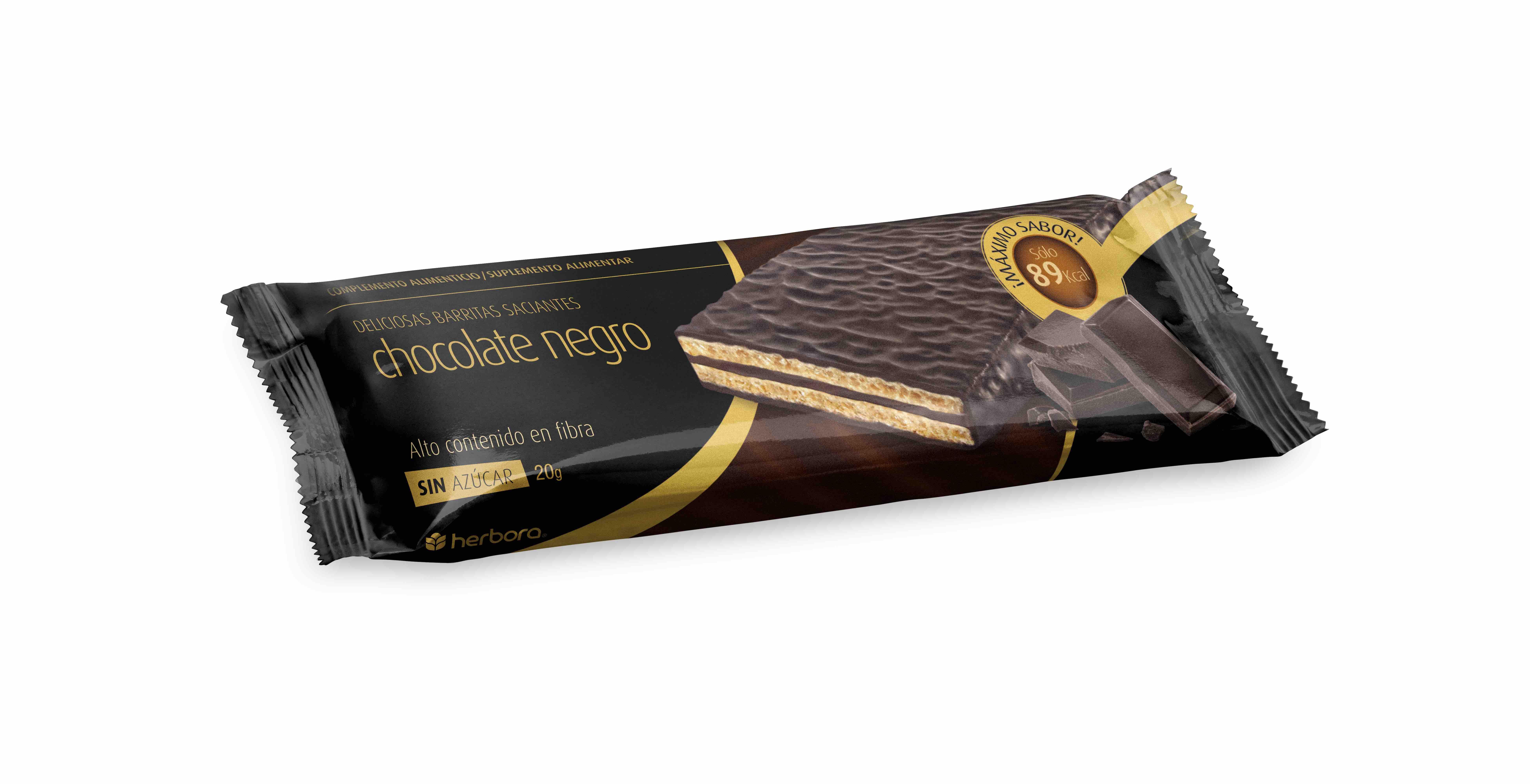 Barrita saciante chocolate negro