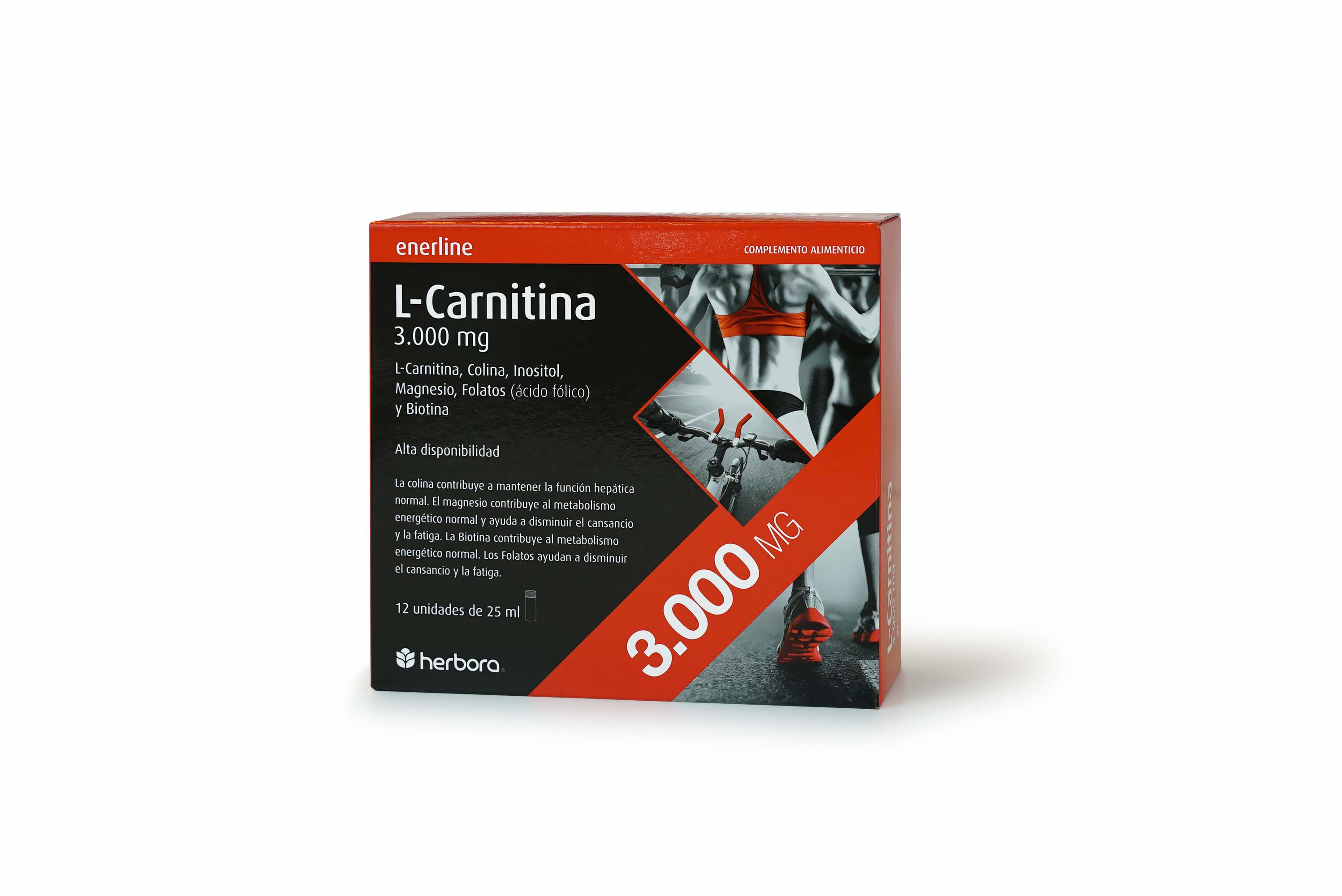 Enerline Carnitina 3000 mg